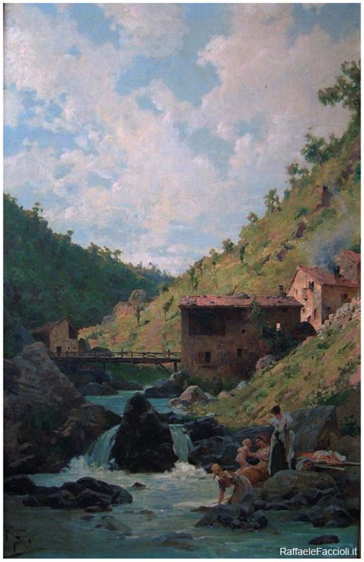 Lavandaie al mulino d'Igea - Appennino Bolognese