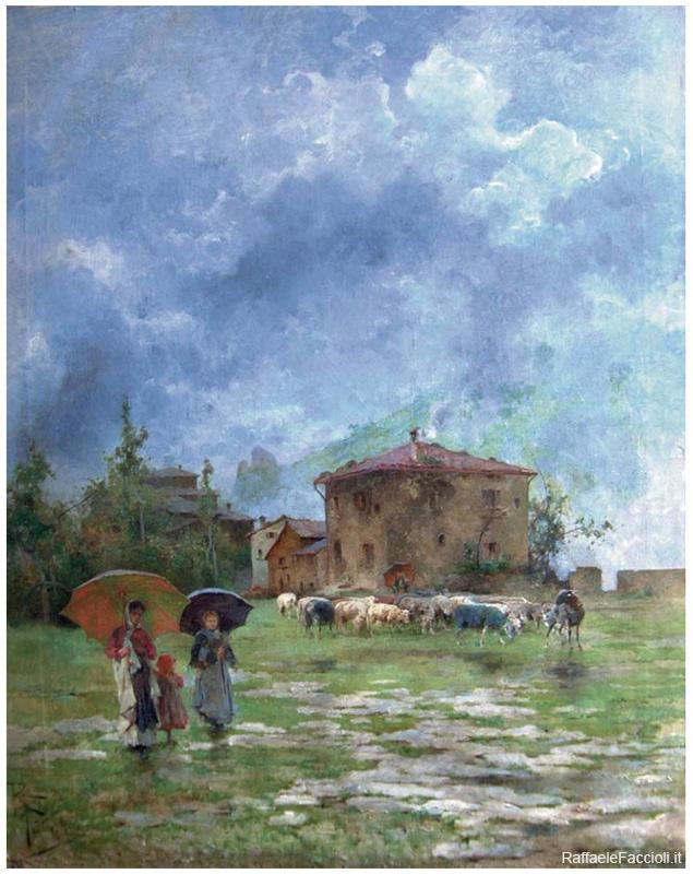 Mentre piove - Alto Appennino Bolognese