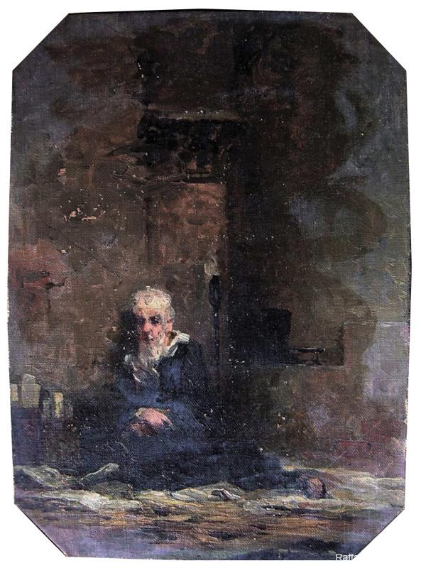 Le ultime ore di Boezio, 1867